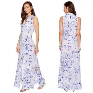Lilly Pulitzer Ezra Maxi Beach Coverup Dress Lilac